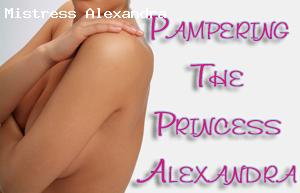 Pamper Princess Alexandra