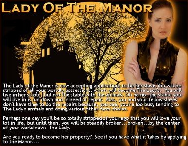 Lady of the Manor, Pt. 2